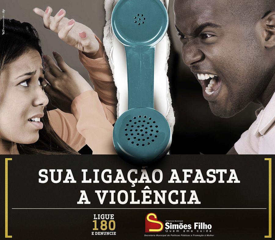 Sua ligação afasta a violência